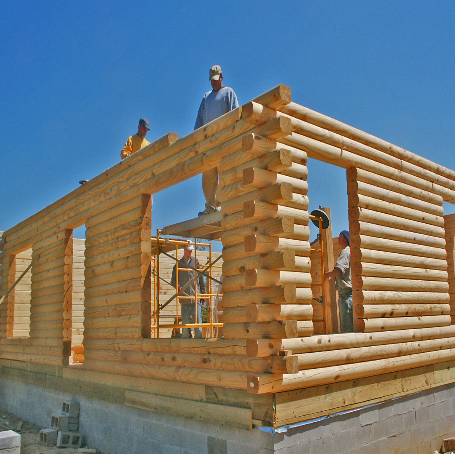 Log homes cabins construction jackson ms for Log construction